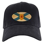 Nova Scotia Flag Black Cap