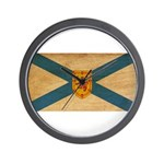 Nova Scotia Flag Wall Clock