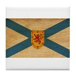 Nova Scotia Flag Tile Coaster
