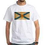 Nova Scotia Flag White T-Shirt