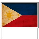 Philippines Flag Yard Sign