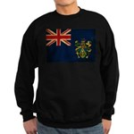 Pitcairn Islands Flag Sweatshirt (dark)