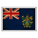 Pitcairn Islands Flag Banner