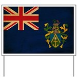 Pitcairn Islands Flag Yard Sign