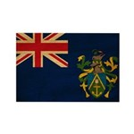 Pitcairn Islands Flag Rectangle Magnet