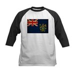 Pitcairn Islands Flag Kids Baseball Jersey