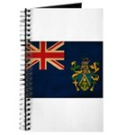 Pitcairn Islands Flag Journal