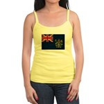 Pitcairn Islands Flag Jr. Spaghetti Tank