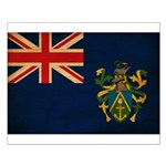 Pitcairn Islands Flag Small Poster