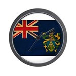 Pitcairn Islands Flag Wall Clock