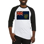 Pitcairn Islands Flag Baseball Jersey