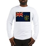Pitcairn Islands Flag Long Sleeve T-Shirt