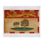 Prince Edward Islands Flag Throw Blanket