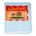 Prince Edward Islands Flag baby blanket