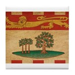 Prince Edward Islands Flag Tile Coaster