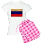 Russia Flag Women's Light Pajamas