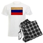 Russia Flag Men's Light Pajamas