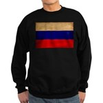 Russia Flag Sweatshirt (dark)
