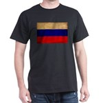 Russia Flag Dark T-Shirt