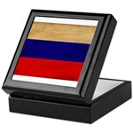 Russia Flag Keepsake Box