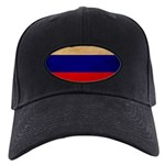 Russia Flag Black Cap