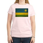 Rwanda Flag Women's Light T-Shirt