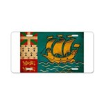 Saint Pierre and Miquelon Fla Aluminum License Pla