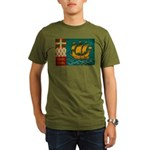 Saint Pierre and Miquelon Fla Organic Men's T-Shir