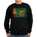 Saint Pierre and Miquelon Fla Sweatshirt (dark)