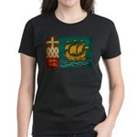 Saint Pierre and Miquelon Fla Women's Dark T-Shirt