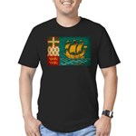Saint Pierre and Miquelon Fla Men's Fitted T-Shirt