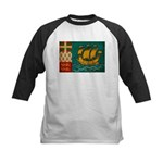 Saint Pierre and Miquelon Fla Kids Baseball Jersey
