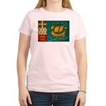 Saint Pierre and Miquelon Fla Women's Light T-Shir