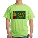Saint Pierre and Miquelon Fla Green T-Shirt