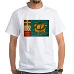 Saint Pierre and Miquelon Fla White T-Shirt