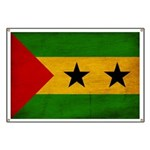 Sao Tome and Principe Flag Banner