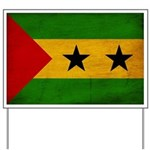 Sao Tome and Principe Flag Yard Sign