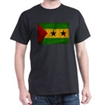 Sao Tome and Principe Flag Dark T-Shirt