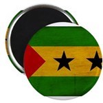 Sao Tome and Principe Flag Magnet