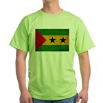 Sao Tome and Principe Flag Green T-Shirt