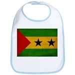 Sao Tome and Principe Flag Bib