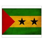 Sao Tome and Principe Flag Small Poster