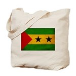 Sao Tome and Principe Flag Tote Bag