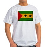 Sao Tome and Principe Flag Light T-Shirt