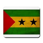 Sao Tome and Principe Flag Mousepad