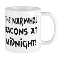 Narwhal Bacons at Midnight Mug