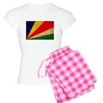 Seychelles Flag Women's Light Pajamas