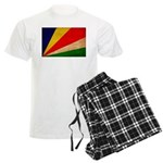 Seychelles Flag Men's Light Pajamas