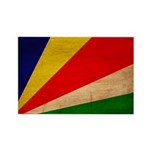 Seychelles Flag Rectangle Magnet (10 pack)