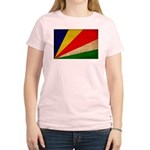 Seychelles Flag Women's Light T-Shirt